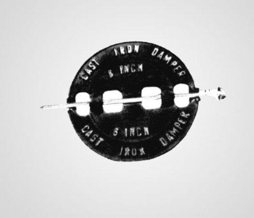 Lindemann 351508 Vestal 8 Inch Spin Damper by Lindemann