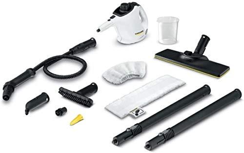 Kärcher SC 1Easyfix Premium Portable Steam Cleaner 0.2l 1200W Black, White-Steam Cleaners (Portable Steam Cleaner, 0.2L, Black, White, 1200W, 220-240, 50-60)
