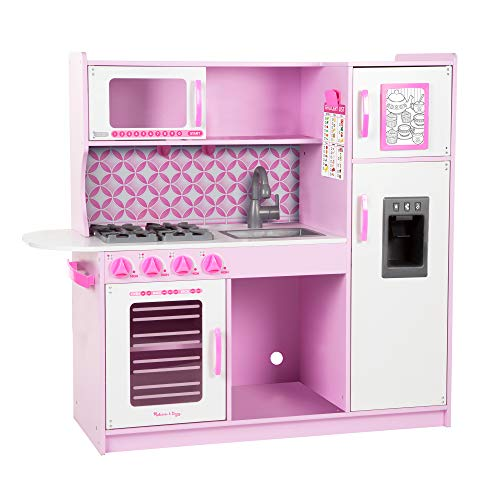 Melissa & Doug Cupcake Chef's Kitchen - Pink Color Rosa, Blanco 14002