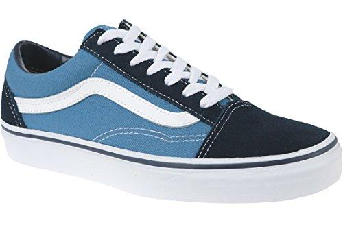 Vans old skool, sneakers unisex adulto, blu (marina militare), 42.5 eu