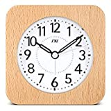 Best Human Alarm Clocks - SLB Works TXL Wooden Desktop Snooze Alarm Clock Review