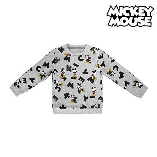 Sudadera para Mujer dise/ño de Mickey Mouse Blanco M Course