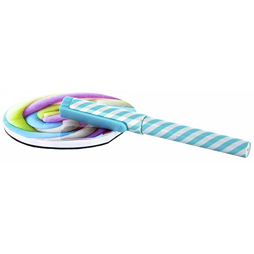 Marshmallow Blatt (Promobo Memo Block Note Blatt abnehmbare Design Gourmand Schnuller Marshmallow Kugelschreiber blau)
