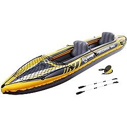 Jilong St. Croix 2-2Personnes Kayak 350x 78x 52cm + 2Sièges gonflables Charge 160kg