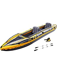 Jilong St. Croix 2–2personas Kayak 350x 78x 52cm, incluye 2asientos inflables tragfähigkeit 160kg