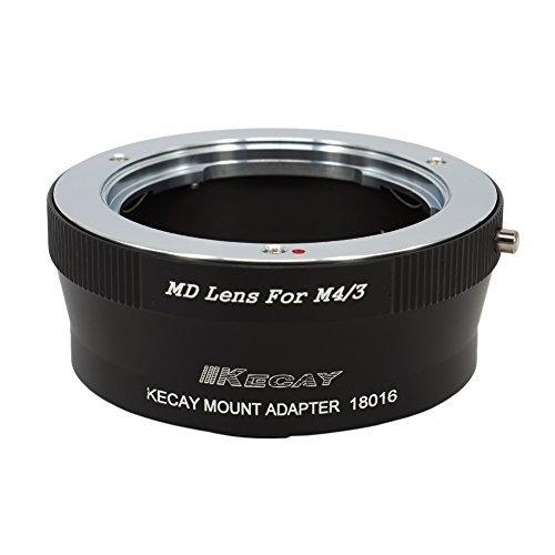 MD - M4/3, KECAY® Objektiv Mount Adapter Ring für Minolta MD MC SR Rokkor 35mm SLR Objektiv Adapterringe auf Micro 4/3 M4/3 Four Thirds System Kamera, Olympus PEN E-P1, P2, P3, P5, E-PL1, PL1s, PL2, PL3, PL5, PL6, E-PM1, PM2, OM-D, E-M5, E-M1, Panasonic Lumix DMC-GH1, GH2, GH3, GX7, G1, G2, G10, G3, G5, G6, GF1, GF2, GF3, GF5, GF6, GX1, GM (35mm Minolta Kamera)