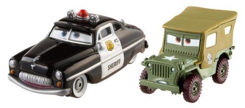 y Cars Die-Cast 2er Pack Sheriff und Sarge ()