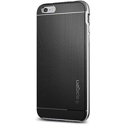 Spigen SGP11665 - Funda para iPhone 6 Plus / 6S Plus, Negro/Plata