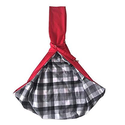 PENIVO Reversible Pet dog Bag Hands Free,Strap Adjustable Sling Carrier Transport bags shoulder bag for small medium… 3