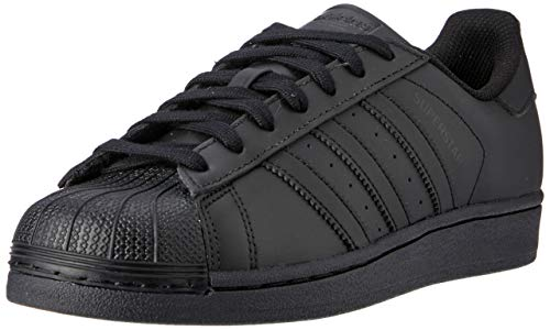adidas Originals Superstar Foundation, Herren Sneakers, Schwarz (Core Black/Core Black/Core Black), 43 1/3 EU (9 Herren UK)