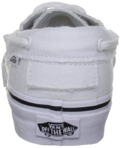 Vans Zapato Del Barco, Unisex - Erwachsene Sneaker Weiß (Blanc (True White))
