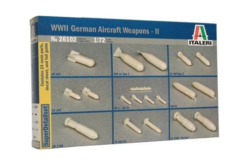 Italeri 510026102 - 1:72 WWII Deutsche Luftwaffen (2) (Luftwaffe Wwii)
