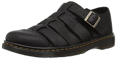 Dr. Martens Herren Fenton Geschlossene Sandalen, Schwarz (Black 001), 44 EU (Boot 1460 Martens Classic)