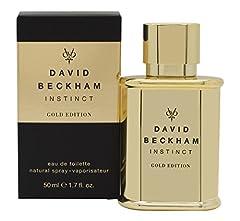 Idea Regalo - David Beckham Instinct Gold Limited Edition EDT, 1er Pack (1X 0.05L)