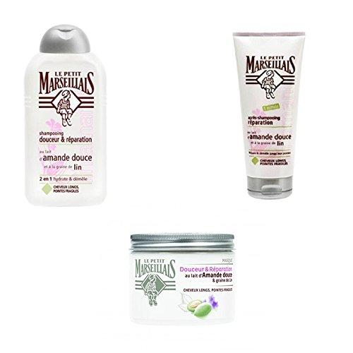 Le Petit Marseillais – Cheveux Kit d'entretien pour cheveux longs