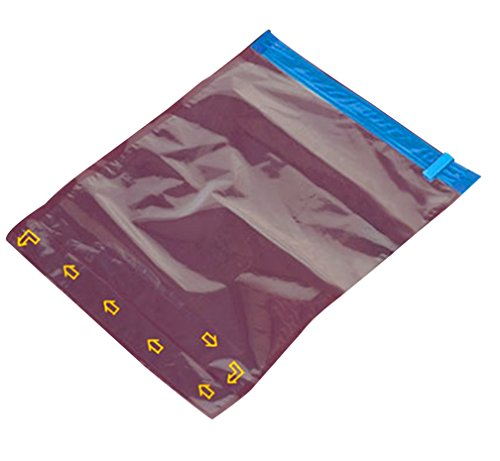 LaoZan 10 tlg Set Vakuumbeutel Aufbewahrungsbeutel Platzsparer Vakuum Beutel Mit a Pump Transparent