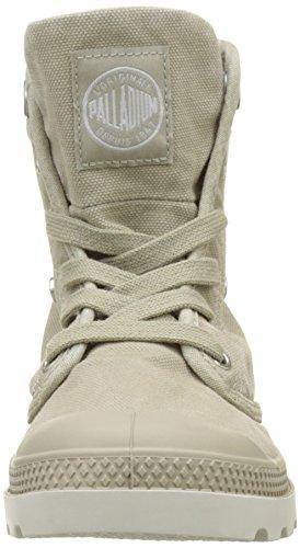 Palladium - Baggy Low Lp F, Sneaker Donna Beige (chèvre / Bouleau Argenté)