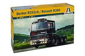 Italeri 3902-1: 24Berliet r352ch/Renault R360, vehículos