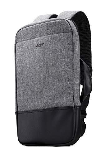 Acer Travel Backpack / Rucksack (für alle 14 Zoll (35,56 cm) Notebooks und kleiner, slim, 3-in-1, perfekt für unterwegs) grau
