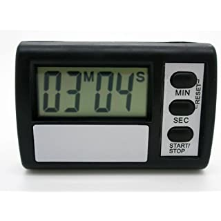 ONOGAL Clock timer digital Cuenta Atras Kitchen Holder Adhesive LCD Battery 2274