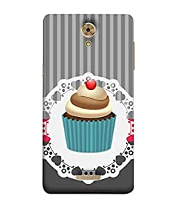 Coolpad Mega 2.5D Back Cover Cup Cake Design From FUSON
