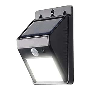 kosee faro lumi re led sans fil avec d tecteur de mouvement et nergie solaire pour zones. Black Bedroom Furniture Sets. Home Design Ideas