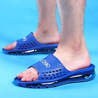 pantofole Infradito Scarpe da uomo Casual sintetico Slip-on nero / blu / verde / rosso / reale sandali US8.5-9 / EU41 / UK7.5-8 / CN42