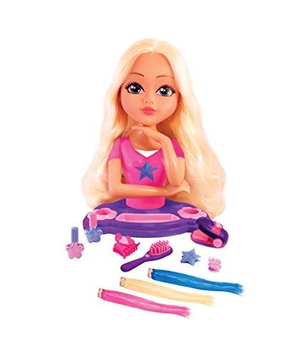 Splash Toys - 31050 - Tête A Coiffer - Girly Girlz - Avec ses cheveux qui changent de couleur