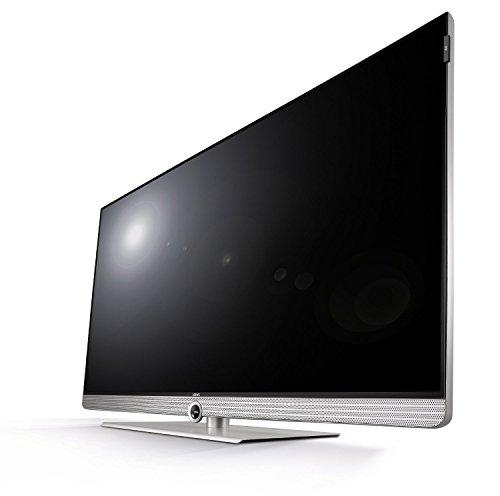 """LOEWE Art 55 UHD/DC SI 55"""" 4K Ultra HD Compatibilità 3D Smart TV Wi-Fi Nero, Argento, Acciaio inossidabile"""