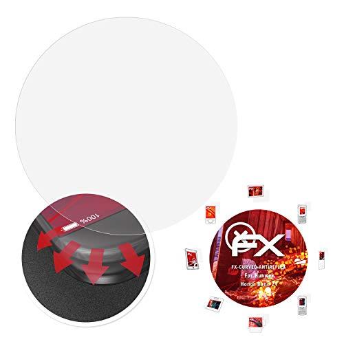 atFoliX Schutzfolie passend für Huawei Honor Band Z1 Folie, entspiegelnde & Flexible FX Bildschirmschutzfolie (3X)