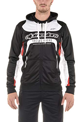 Alpinestars Sweatshirt Session Fleece - Sudadera para hombre, color negro, talla L