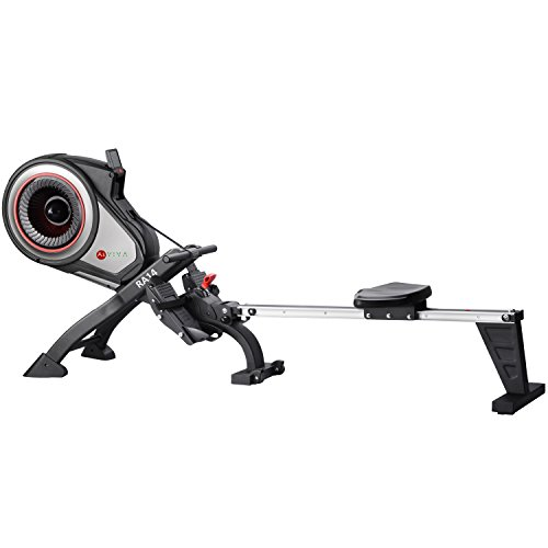 41iRSZBDm8L. SS500  - AsVIVA RA14 Magnetic Rower Rowing Machine, Cardio with 10 kg Flywheel and Magnetic Brake with 8 Manual Resistance Levels, Multi-Function Computer with Heart Rate Monitor