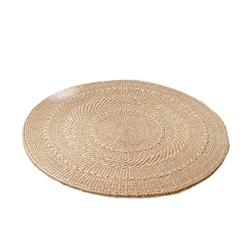 Teppich TONGTONG SHOP Pucao Bodenmatte, Futon-Matte Meditation Matte Meditieren Yoga-Matte Handgefertigte Fenster Mat (Size : 30 * 30CM)