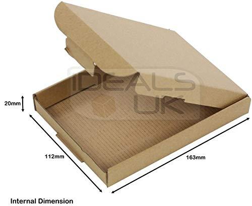 50 x C6 A6 tamaño letra grande fuerte envío caja cartón gripseal PIP y#x2606; Tamaño 16 cm x 12...