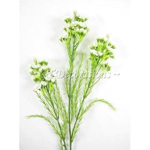6x Artificial chamelaucium cera flores aerosoles de GT decoraciones