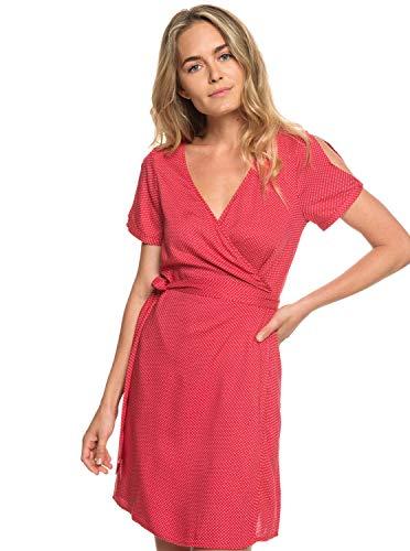 Roxy Monument View - Short Sleeve Wrap Dress - Frauen -