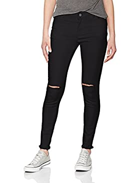 Urban Classics Ladies Cut Knee Pants, Pantalones para Mujer