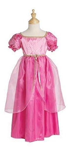 Trullala Faschingskleid Juliette, Kinderkostüm, Faschingskostüm, Größe: L in pink (6-8 Jahre)