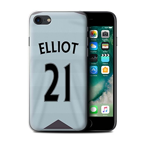 Offiziell Newcastle United FC Hülle / Case für Apple iPhone 7 / Doumbia Muster / NUFC Trikot Away 15/16 Kollektion Elliot