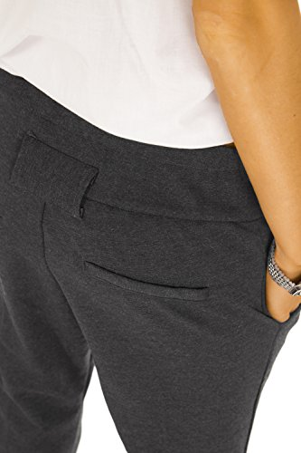 Bestyledberlin Pantalon femme, pantalon chino j77kw Noir