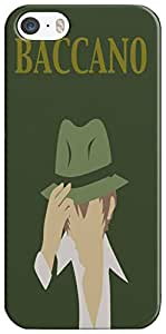 Slimthread STIP5021 Baccano Phone Case For iPhone 5/5s
