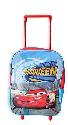 mc Trolley Asilo E Tempo Libero Cars Zainetto per Bambini, 30 cm, Multicolore
