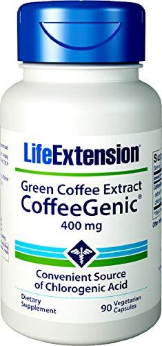 CoffeeGenicTM Green Coffee Extract (containing GCA) - 400 mg - 90 caps