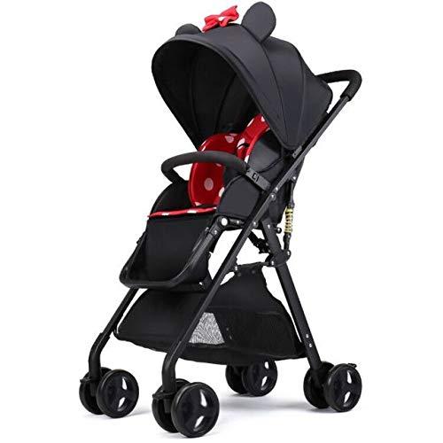 LITIAN Cochecito de bebé de Alto Paisaje Puede Sentarse reclinable Plegable Ultraligero bebé recién...
