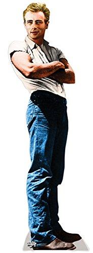 Preisvergleich Produktbild Life-Size Stand-up (Lebensgroßer Pappaufsteller) James Dean - Rebel
