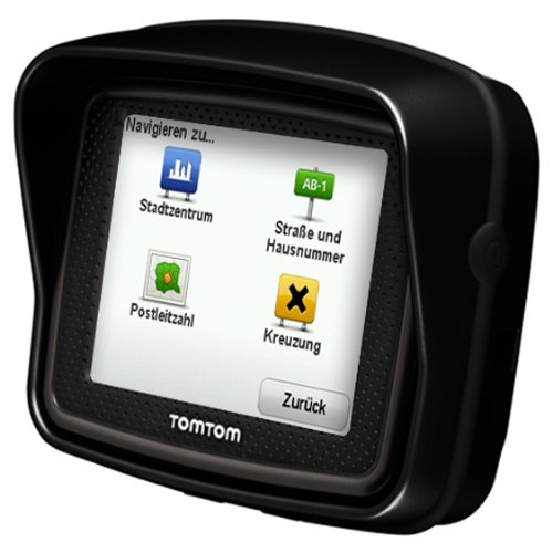 Bild 7: TomTom Urban Rider Central Europe Motorrad-Navigationssystem (8,9 cm (3,5 Zoll) Display, IQ Routes, Fahrspurassistent) mattschwarz