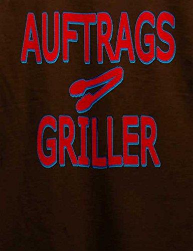 Auftragsgriller Herren T-Shirt Braun