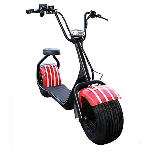 E-Scooter Chopper N1, 2000 Watt E-Motor, 45 km/h, E-Roller, Elektroroller, E-Tretroller,Elektro-Roller, Produktvideo, USA