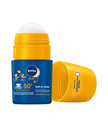 Nivea Niños Sun Kids Roll On Crema Solar 50+- 50 ml