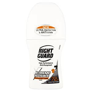 Right Guard Xtreme Invisible 72H Anti-Perspirant Deodorant Roll-On 50ml